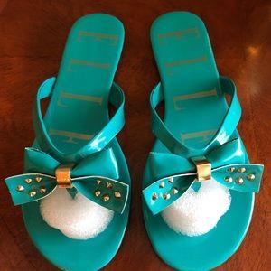 Teal Sandals by Elle